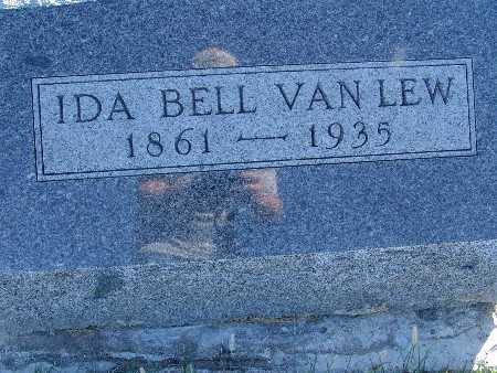 VAN LEW, IDA BELL - Warren County, Iowa   IDA BELL VAN LEW