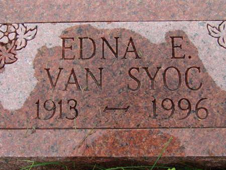 VANSYOC, EDNA E - Warren County, Iowa | EDNA E VANSYOC
