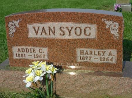 VANSYOC, ADDIE C - Warren County, Iowa | ADDIE C VANSYOC