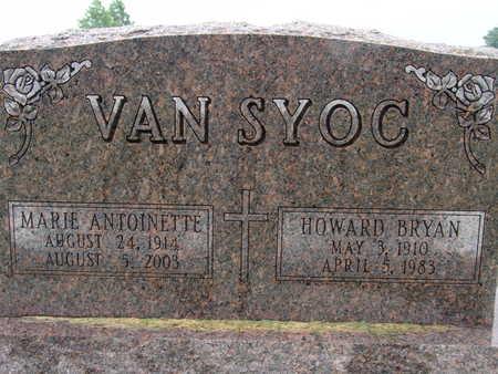 VANSYOC, HOWARD BRYAN - Warren County, Iowa | HOWARD BRYAN VANSYOC