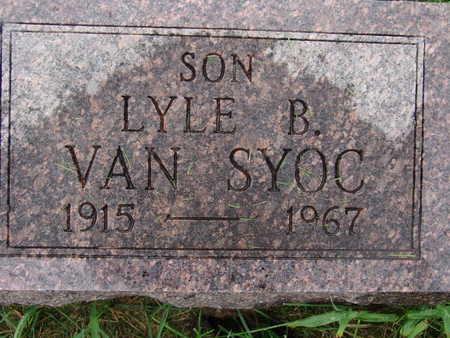 VANSYOC, LYLE B - Warren County, Iowa | LYLE B VANSYOC