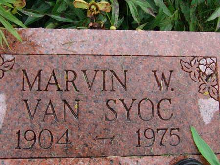 VANSYOC, MARVIN W - Warren County, Iowa   MARVIN W VANSYOC