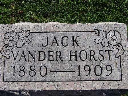 VANDER HORST, JACK - Warren County, Iowa | JACK VANDER HORST
