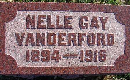 VANDERFORD, NELLE GAY - Warren County, Iowa | NELLE GAY VANDERFORD
