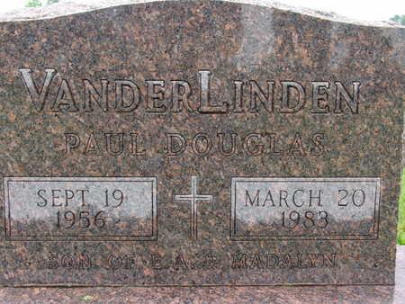 VANDERLINDEN, PAUL DOUGLAS - Warren County, Iowa | PAUL DOUGLAS VANDERLINDEN