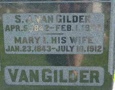 VANGILDER, S. J. - Warren County, Iowa | S. J. VANGILDER