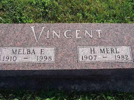 VINCENT, H MERL - Warren County, Iowa | H MERL VINCENT