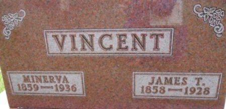 VINCENT, JAMES T. - Warren County, Iowa   JAMES T. VINCENT