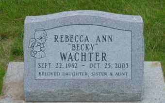 WACHTER, REBECCA ANN - Warren County, Iowa | REBECCA ANN WACHTER