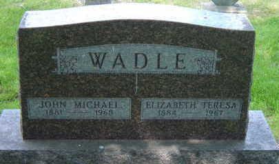 WADLE, JOHN MICHAEL - Warren County, Iowa | JOHN MICHAEL WADLE