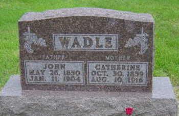 WADLE, JOHN - Warren County, Iowa | JOHN WADLE