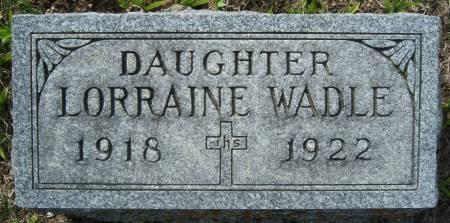 WADLE, LORRAINE - Warren County, Iowa | LORRAINE WADLE
