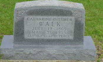 WALK, CATHARINE - Warren County, Iowa | CATHARINE WALK