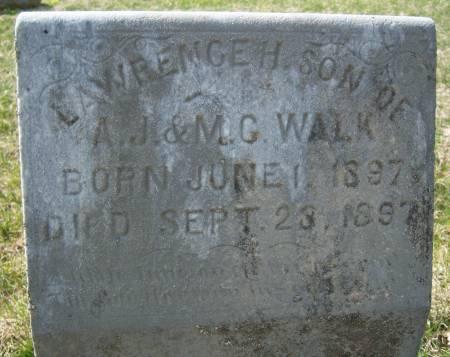 WALK, LAWRENCE H. - Warren County, Iowa | LAWRENCE H. WALK