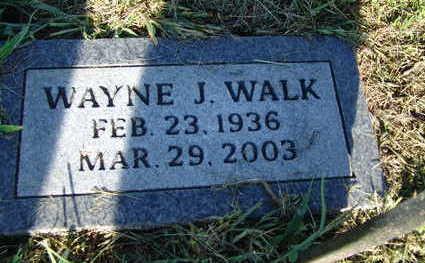 WALK, WAYNE J. - Warren County, Iowa | WAYNE J. WALK