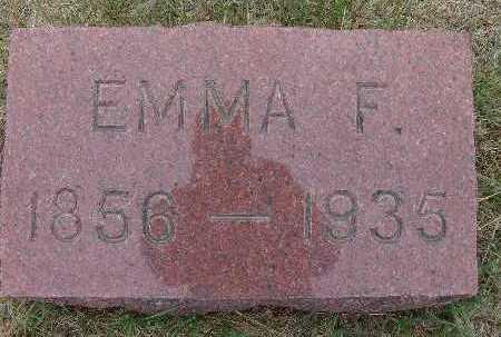WALKER, EMMA F. - Warren County, Iowa | EMMA F. WALKER
