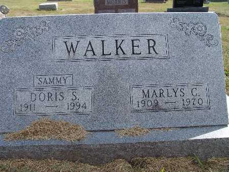 WALKER, DORIS S. - Warren County, Iowa | DORIS S. WALKER