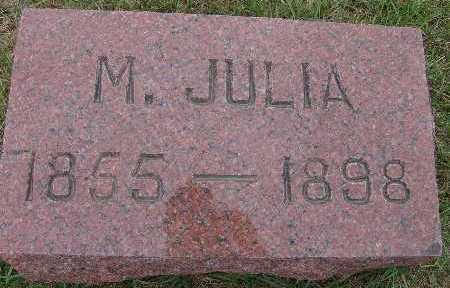 WALKER, M. JULIA - Warren County, Iowa | M. JULIA WALKER