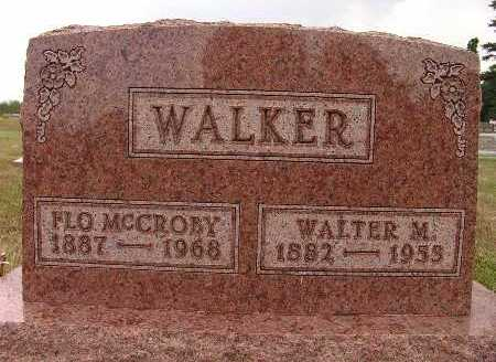 WALKER, FLO MCCROBY - Warren County, Iowa | FLO MCCROBY WALKER