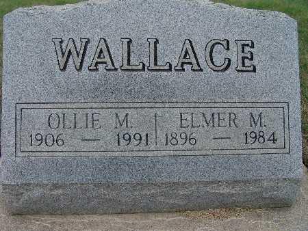 WALLACE, ELMER M. - Warren County, Iowa | ELMER M. WALLACE