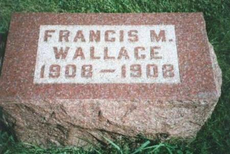 WALLACE, FRANCIS MARION - Warren County, Iowa | FRANCIS MARION WALLACE