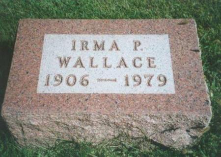 WALLACE, IRMA P. - Warren County, Iowa | IRMA P. WALLACE