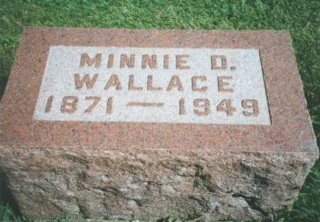 WALLACE, MINNIE D. - Warren County, Iowa | MINNIE D. WALLACE