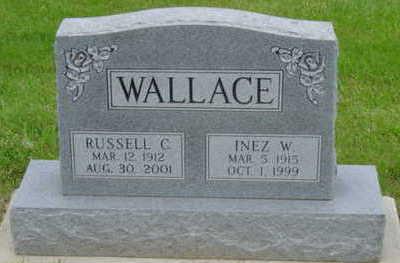 WALLACE, RUSSELL C - Warren County, Iowa   RUSSELL C WALLACE