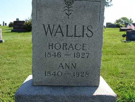 WALLIS, ANN - Warren County, Iowa | ANN WALLIS