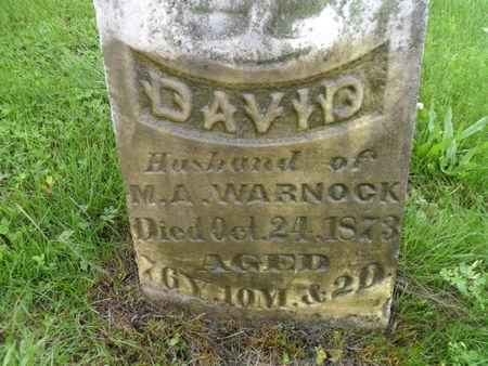 WARNOCK, DAVID - Warren County, Iowa | DAVID WARNOCK