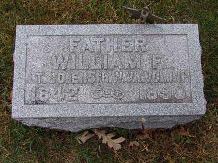 WARTHEN, WILLIAM F. - Warren County, Iowa   WILLIAM F. WARTHEN