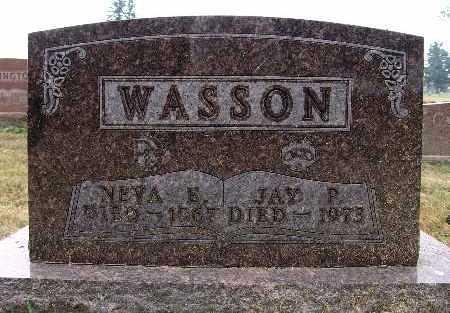 WASSON, JAY P. - Warren County, Iowa   JAY P. WASSON