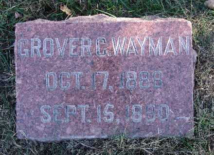 WAYMAN, GROVER C. - Warren County, Iowa | GROVER C. WAYMAN