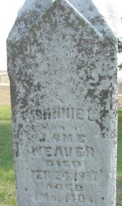 WEAVER, JOHNNIE L. - Warren County, Iowa | JOHNNIE L. WEAVER