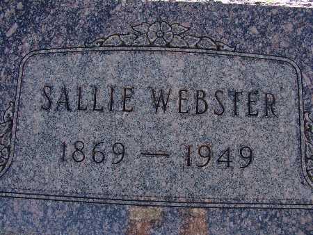 WEBSTER, SALLIE - Warren County, Iowa | SALLIE WEBSTER