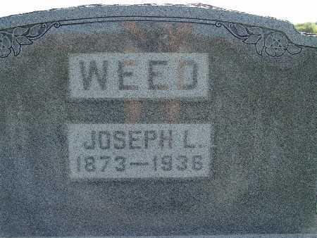 WEED, JOSEPH L. - Warren County, Iowa | JOSEPH L. WEED
