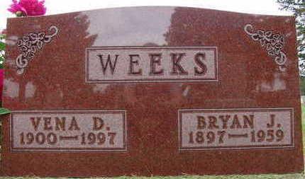 WEEKS, BRYAN J. - Warren County, Iowa | BRYAN J. WEEKS