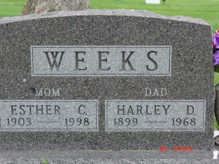 WEEKS, HARLEY D. - Warren County, Iowa | HARLEY D. WEEKS