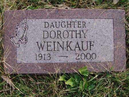WEINKAUF, DOROTHY - Warren County, Iowa   DOROTHY WEINKAUF