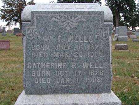WELLS, WM. F. - Warren County, Iowa | WM. F. WELLS