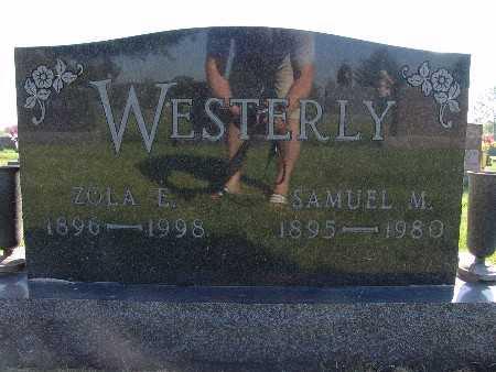WESTERLY, SAMUEL M. - Warren County, Iowa   SAMUEL M. WESTERLY