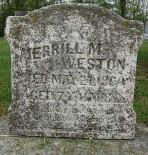 WESTON, MERRILL M. - Warren County, Iowa | MERRILL M. WESTON