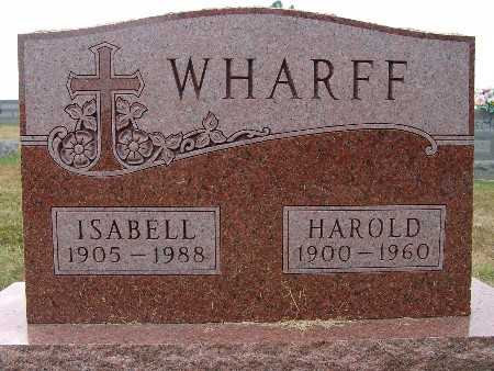 WHARFF, ISABELL - Warren County, Iowa | ISABELL WHARFF
