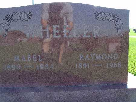 WHEELER, MABEL - Warren County, Iowa | MABEL WHEELER