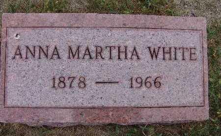 WHITE, ANNA MARTHA - Warren County, Iowa | ANNA MARTHA WHITE