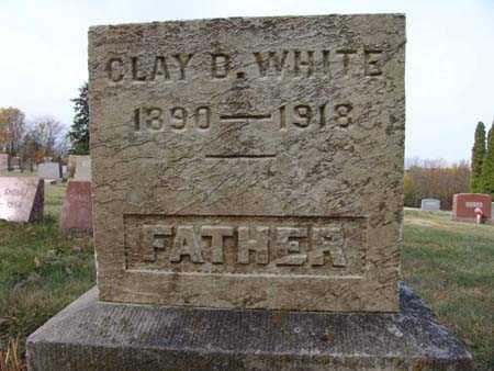 WHITE, CLAY D. - Warren County, Iowa | CLAY D. WHITE
