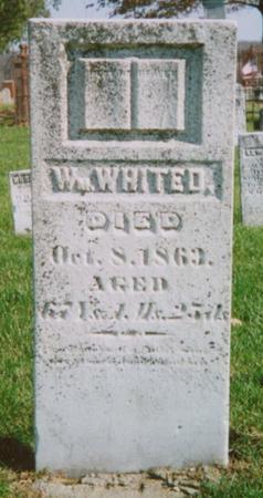 WHITED, WILLIAM - Warren County, Iowa | WILLIAM WHITED