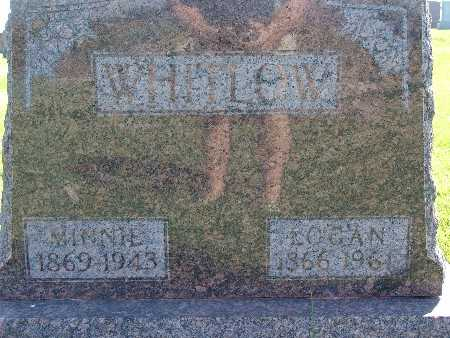 WHITLOW, MINNIE - Warren County, Iowa | MINNIE WHITLOW