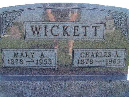 WICKETT, MARY A - Warren County, Iowa | MARY A WICKETT