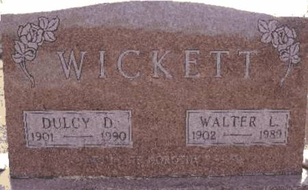 WICKETT, DULCY D. - Warren County, Iowa | DULCY D. WICKETT